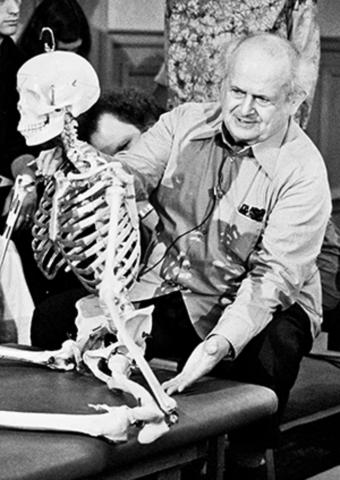 Moshe Feldenkrais-squelette